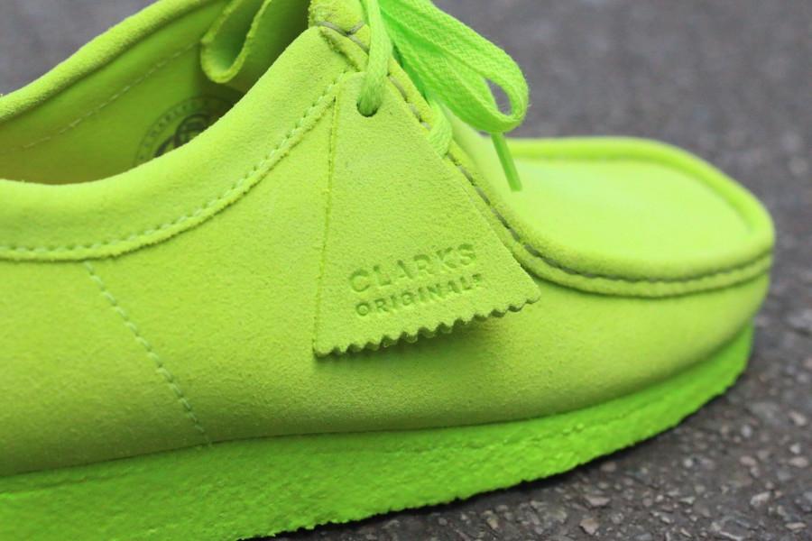 Clarks Originals Wallabee Neon Suede Pack (1)