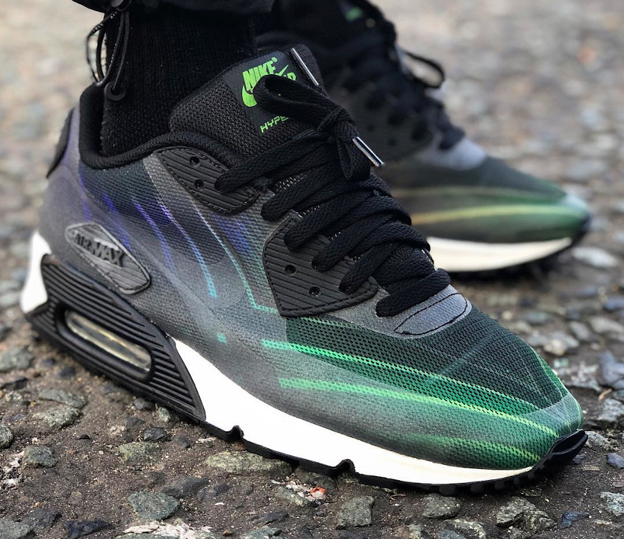 Hurley x Nike Air Max 90 Phantom 4D - @sneakerish