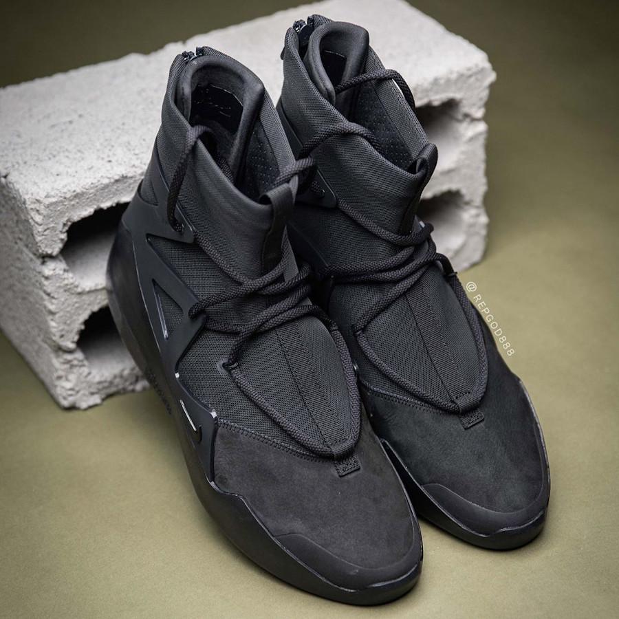 Jerry Lorenzo x Nike Air Fear of God 1 Triple Black (1)