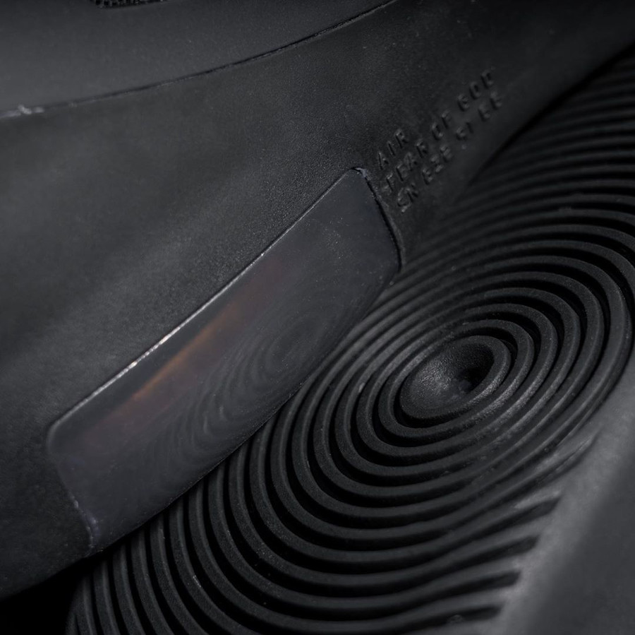 Jerry Lorenzo x Nike Air Fear of God 1 Triple Black (8)