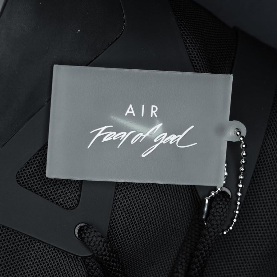 Jerry Lorenzo x Nike Air Fear of God 1 Triple Black (9)