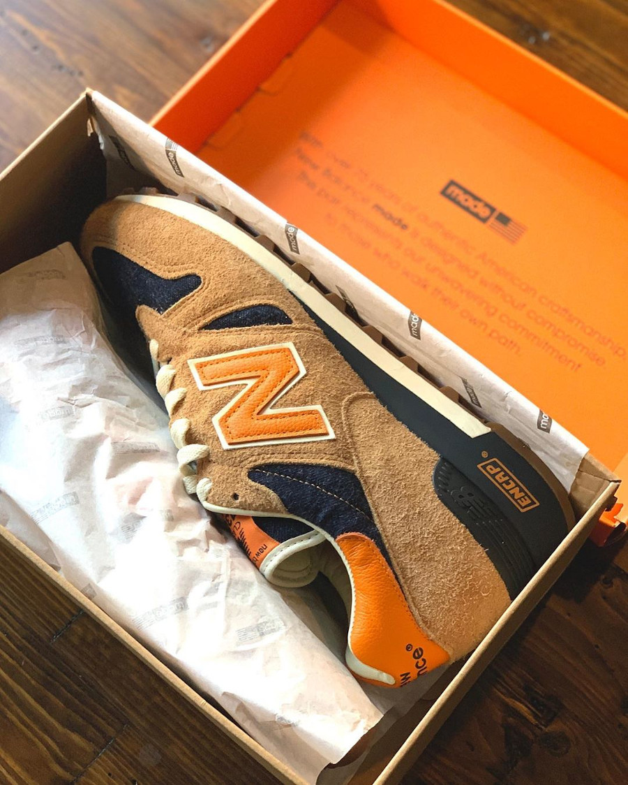 Levi's x New Balance 1300 Denim 'Orange Tab' (made in USA) (1)