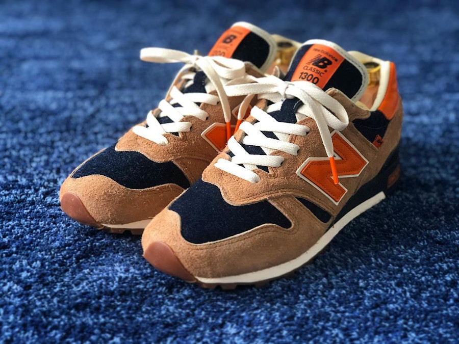 Levi's x New Balance 1300 Denim 'Orange Tab' (made in USA) (2)