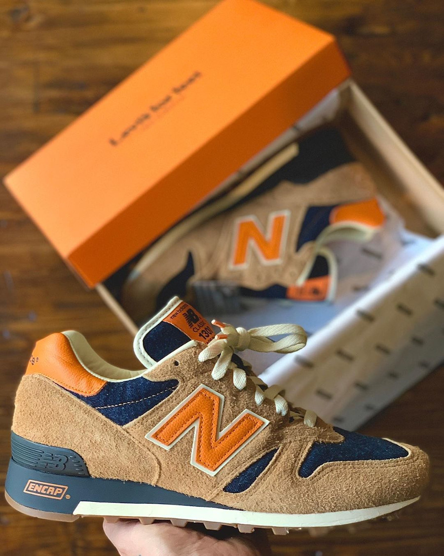 Levi's x New Balance 1300 Denim 'Orange Tab' (made in USA) (3)