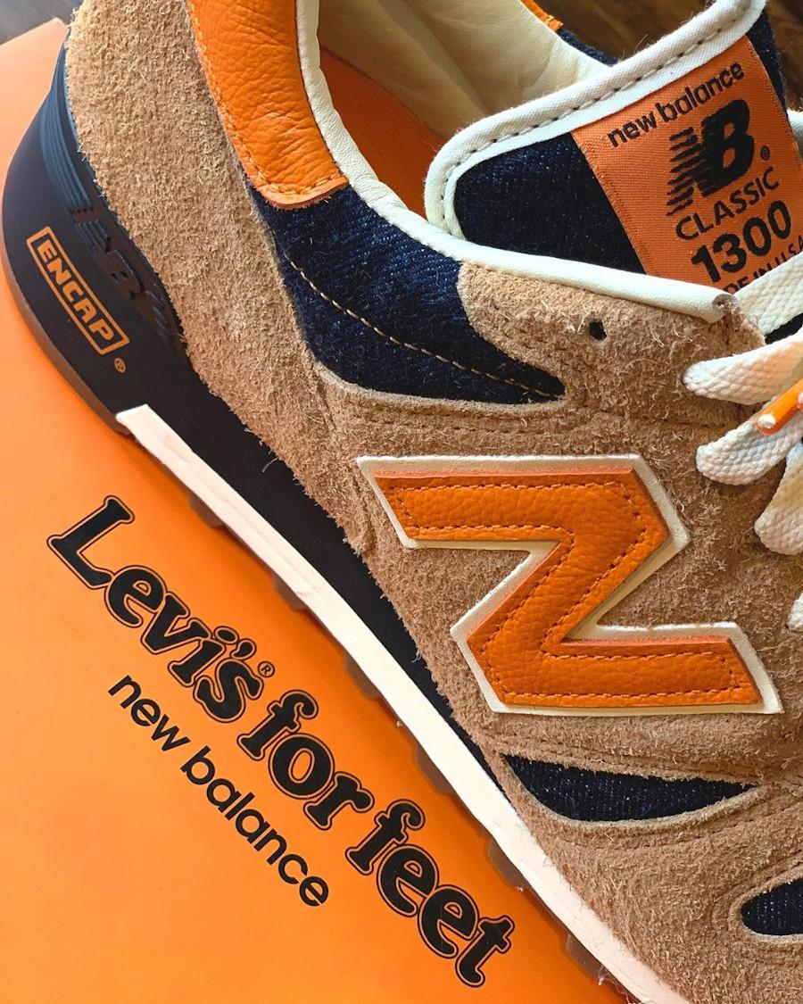 Levi's x New Balance 1300 Denim 'Orange Tab' (made in USA) (6)