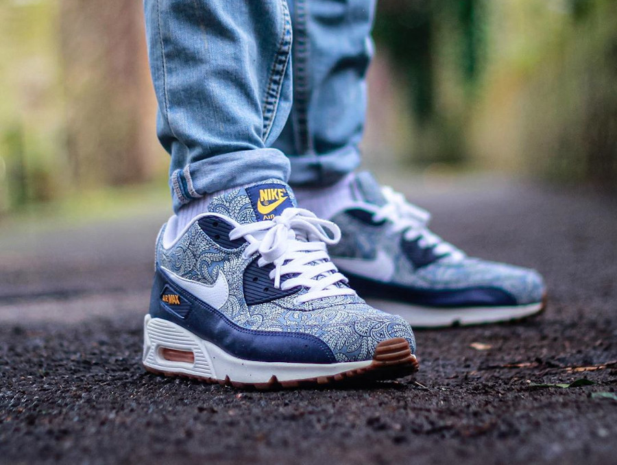 Liberty of London x Nike Air Max 90 Crown - @dsince81