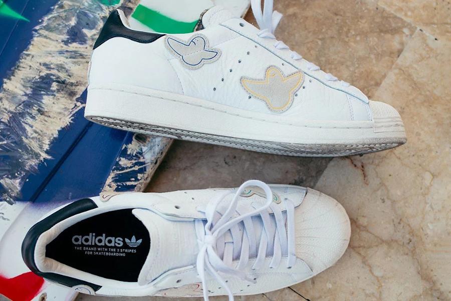 Mark Gonzales x Adidas Superstar ADV x Gonz 'Shmoo' (4)