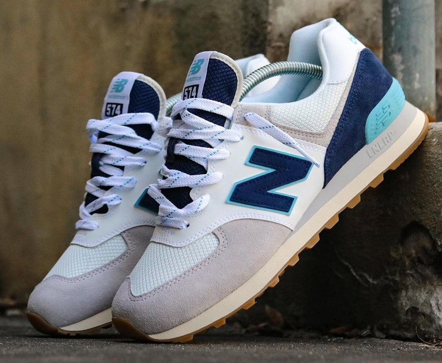 New Balance 574 Core Plus 'Rain Cloud Pigment Bali Blue' (1)