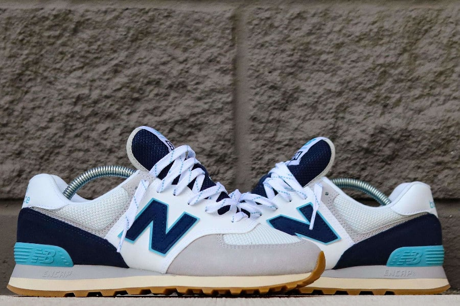 New Balance 574 Core Plus 'Rain Cloud Pigment Bali Blue' (2)