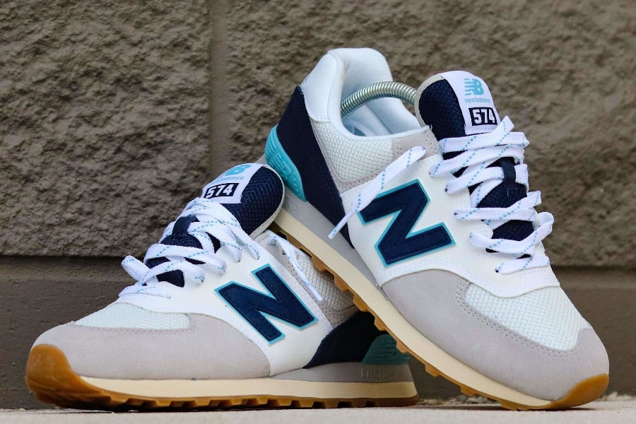 New Balance 574 Core Plus 'Rain Cloud Pigment Bali Blue' (3)