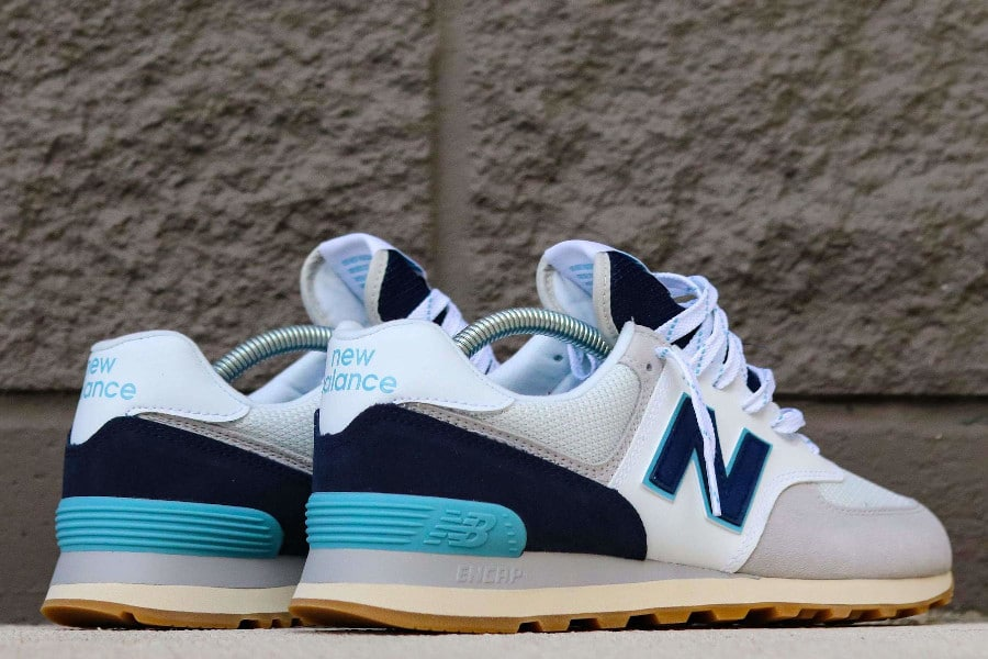 New Balance 574 Core Plus 'Rain Cloud Pigment Bali Blue' (4)