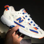 New Balance 827 Abzorb OG White Blue Orange 2020