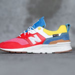New Balance 997H Cordura Spring Hike Trail 'Neo Flame Blue Yellow'
