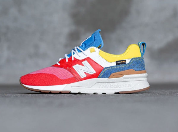 New Balance CMT997HG Cordura Spring Hike Neo Flame