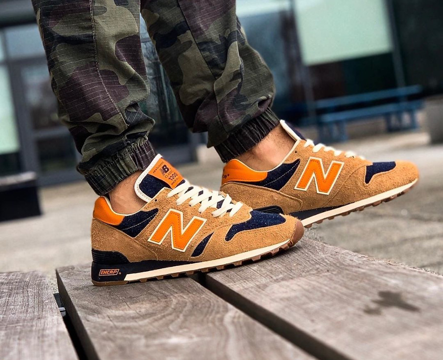 New Balance M1300LV Levi's Denim Orange Tab