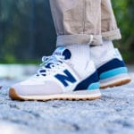 New Balance 574 Core Plus 'Rain Cloud Pigment Bali Blue'