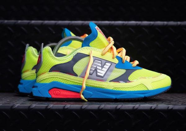 New Balance X-Racer 'Lemon SLush Vision Blue' (6)