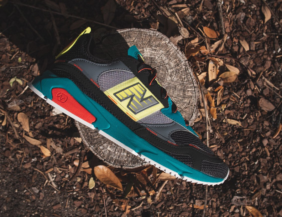 New Balance X-Racer Team Teal Black (2)
