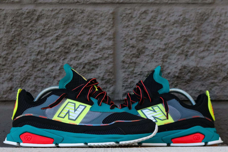 New Balance X-Racer Team Teal Black (3)