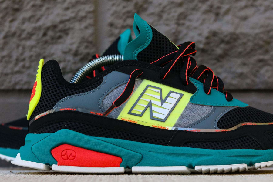New Balance X-Racer Team Teal Black (4)