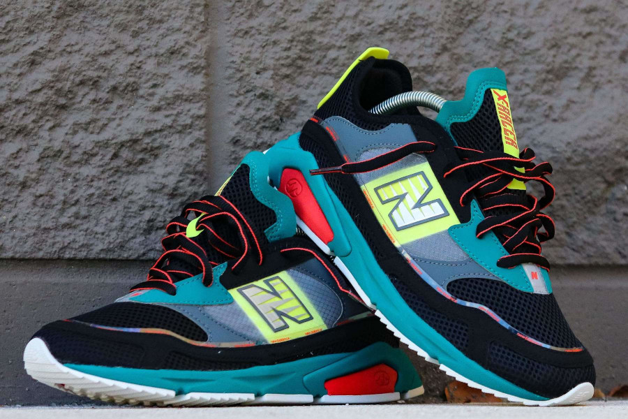 New Balance X-Racer Team Teal Black (5)
