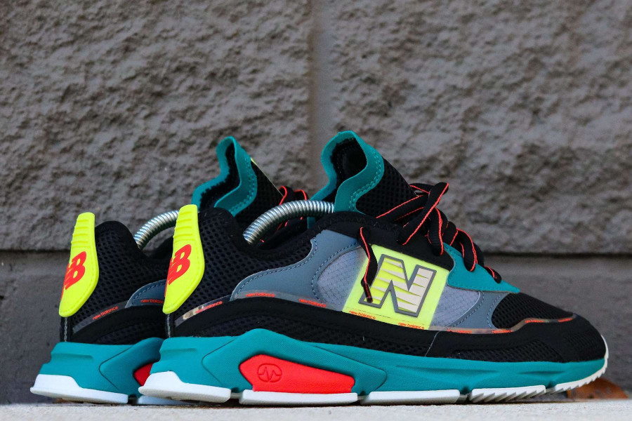 New Balance X-Racer Team Teal Black (6)