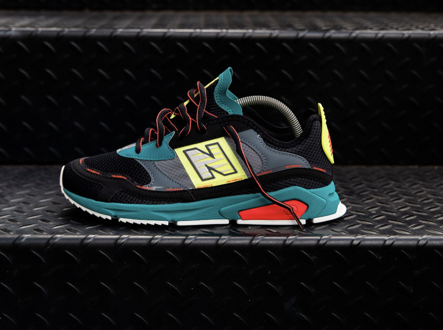 New Balance X-Racer Team Teal Black (7)