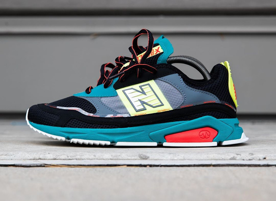 New Balance X-Racer Team Teal Black (8)