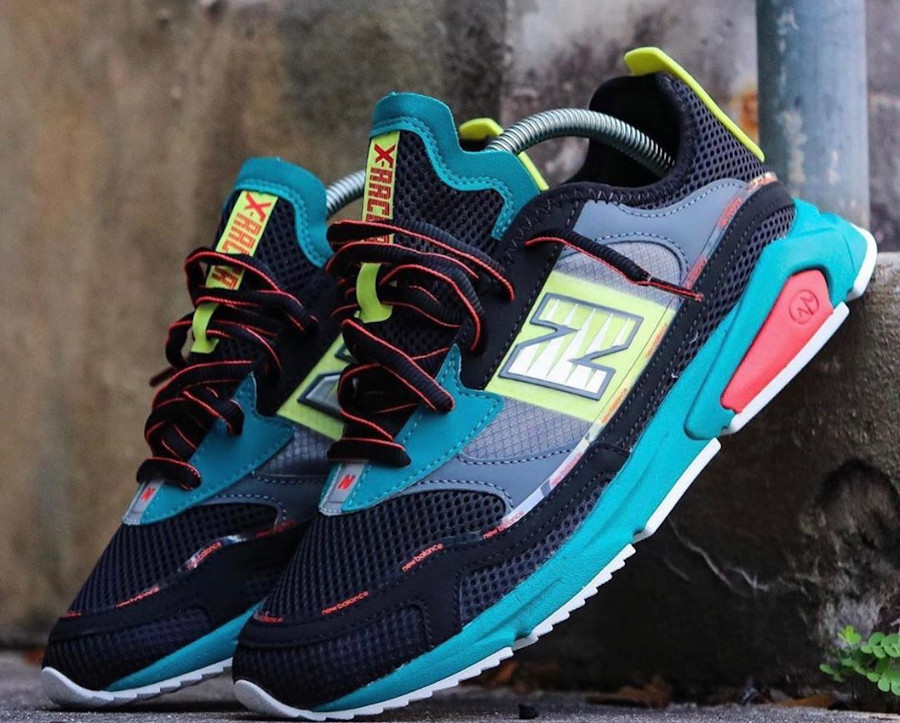 New Balance X-Racer Team Teal Black (9)