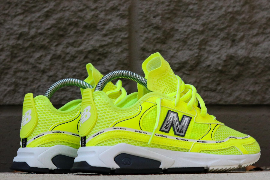 New Balance X-Racer W WSXRCHKC Lemon Slush Black
