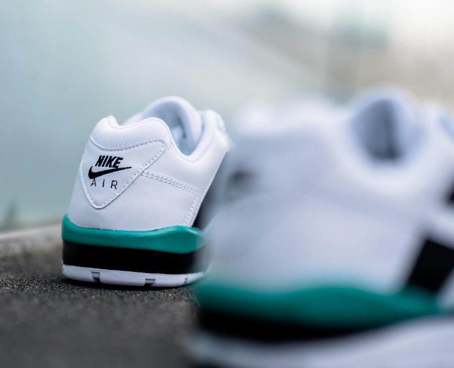 Nike Air Cross Trainer 3 Low White Neptune Green Black (2)