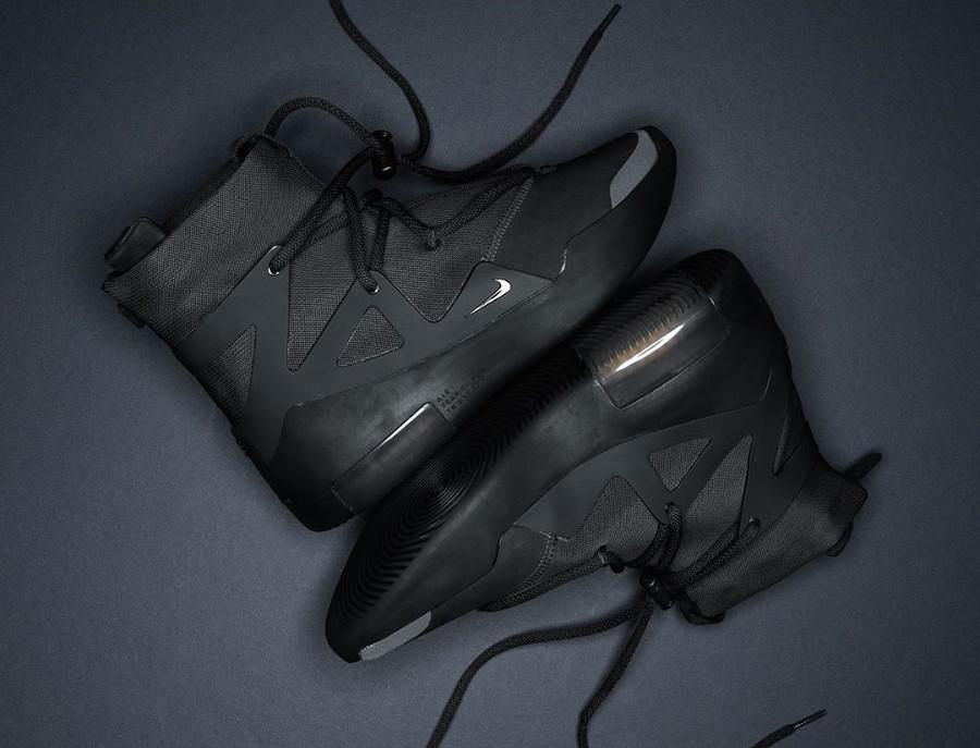 Nike Air Fear of God FOG 1 Noir Triple Black AR4237-005 (couv)