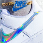Nike Wmns Air Force 1 07 Essential 'Iridescent Swoosh'