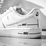 Nike Air Force 1 '07 LV8 Overbranding 'White Black'