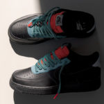 Nike Air Force 1 '07 LV8 Black Obsidian Mist Cool Grey