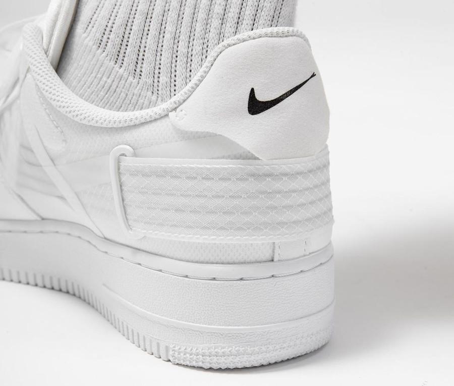 Nike Air Force 1 AF1 Type 2 N354 Triple White CT2584-100 (4-1)