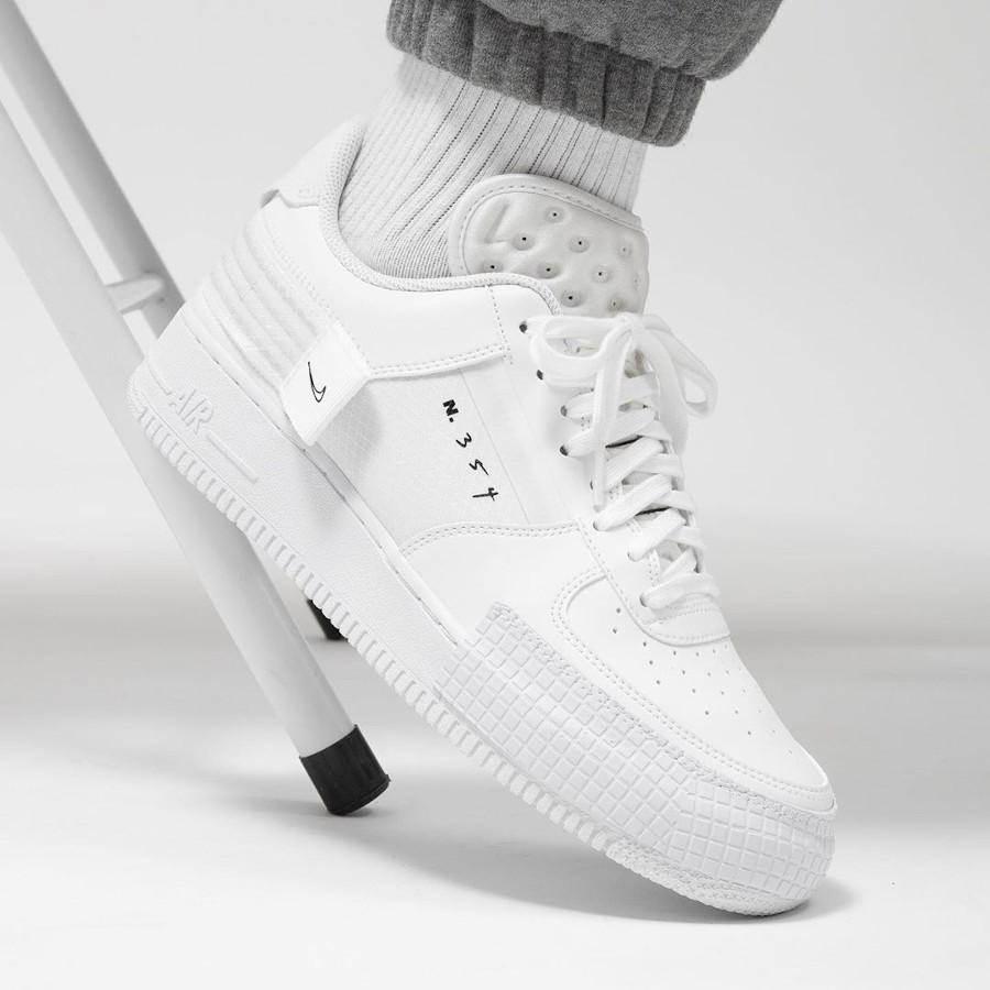 Nike Air Force 1 AF1 Type 2 N354 Triple White CT2584-100 (5-1) (1)