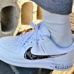 Nike Air Force 1 LV8 Utility Sketch to Shelf Pack 'White Black'