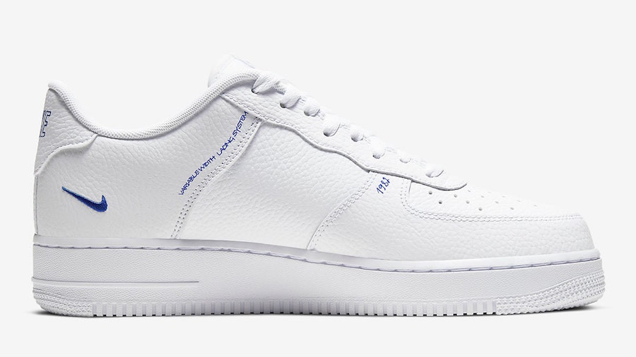 Nike Air Force 1 LV8 Utility 'Sketch Pack' White Racer Blue (4)
