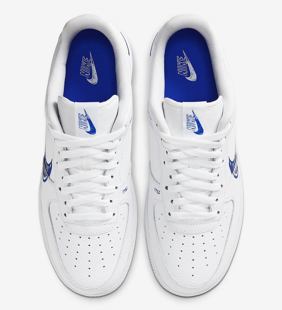 Nike Air Force 1 LV8 Utility 'Sketch Pack' White Racer Blue (5)