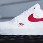 Nike Air Force 1 Low LV8 Utility Bred & White University Red