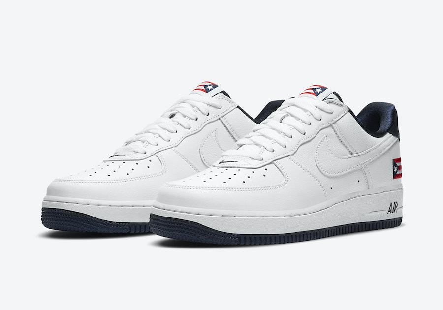 Nike-Air-Force-1-Low-Puerto-Rico-CJ1386-100-sortie-france