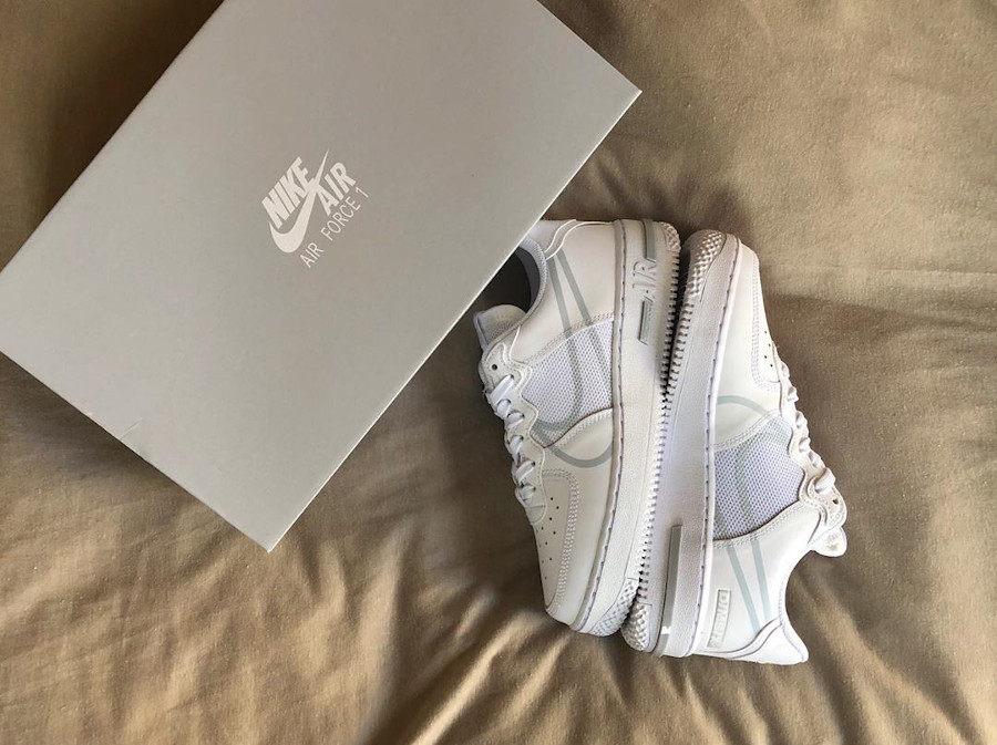 Nike Air Force 1 React Low DMSX White Pure Platinum (1)
