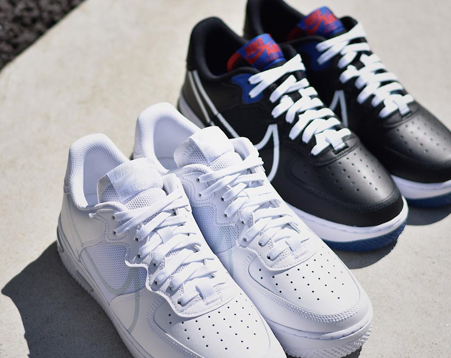 Nike Air Force 1 React Low DMSX White Pure Platinum (2)