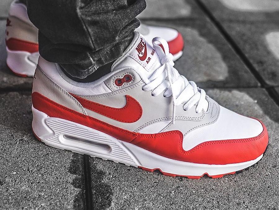 Nike Air Max 90 1 OG Red - @sepatufresh