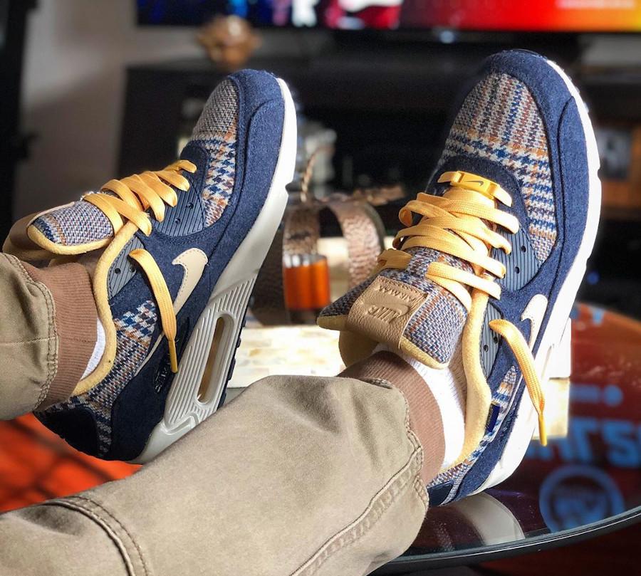 Nike Air Max 90 By You Pendleton 2019 - @sneakertera