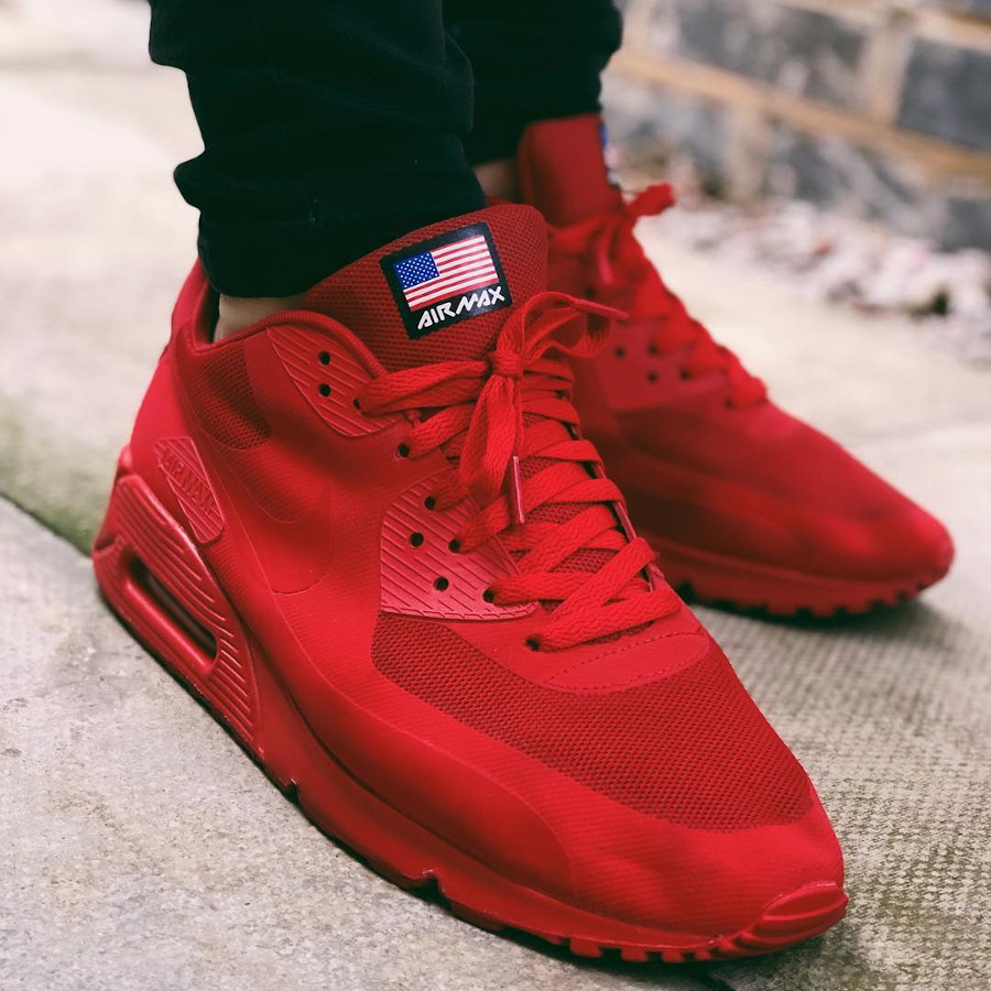 Nike Air Max 90 Hyperfuse Independence Day rouge red - @brad.f