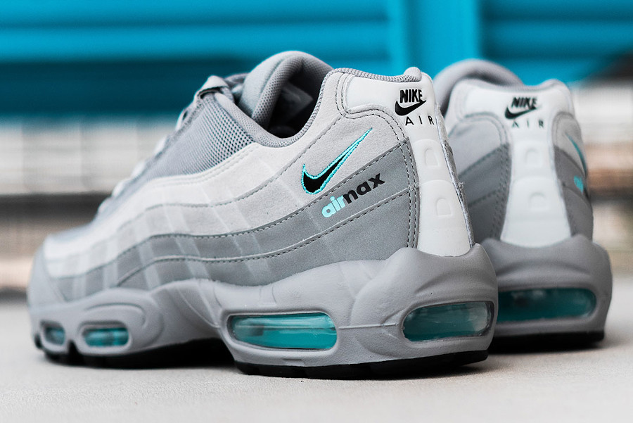 Nike Air Max 95 Cool Grey Blue Fury (exclusivité JD Sports) (2)