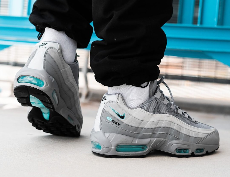 Nike Air Max 95 Cool Grey Blue Fury (exclusivité JD Sports) (3)