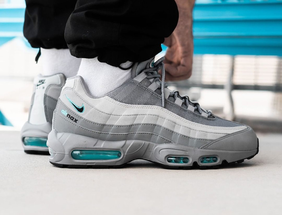 Nike Air Max 95 Cool Grey Blue Fury (exclusivité JD Sports) (4)